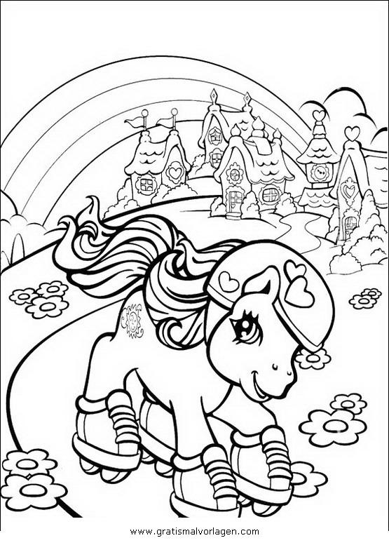 little pony 50 gratis Malvorlage in Comic ...