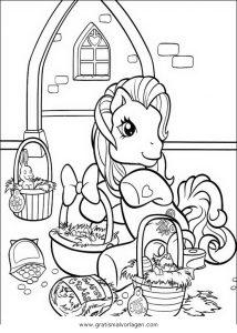 Malvorlage My little Pony little pony 63