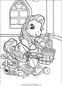 Malvorlage My little Pony little pony 64