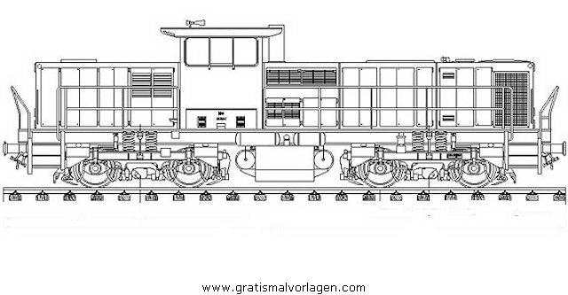 Loks Gratis Malvorlage In Transportmittel Züge Ausmalen
