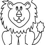Löwen Malvorlagen Zum Ausmalen Für Kinder