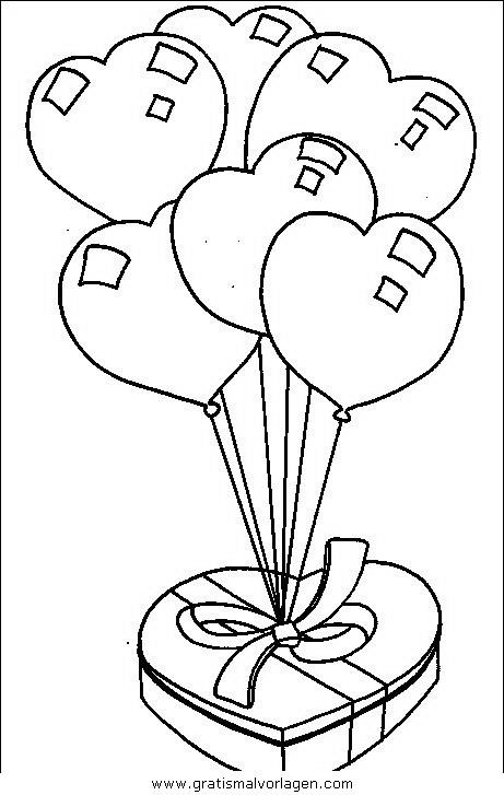 luftballon 23 gratis malvorlage in feste geburtstag