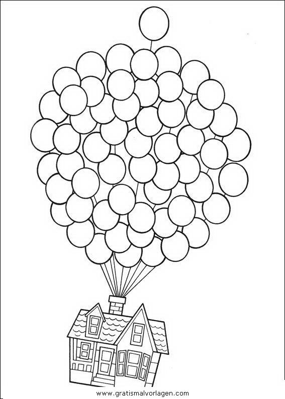 luftballon 26 gratis Malvorlage in Feste, Geburtstag - ausmalen