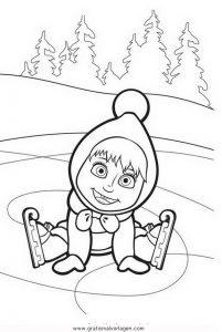 macha orso 02 gratis Malvorlage in Comic ...