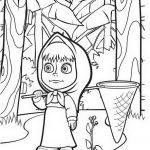 Mascha Und Der Bär Malvorlagen Zum Ausmalen Für Kinder