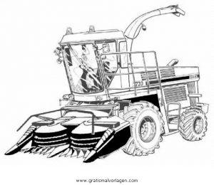 Maishacksler Gratis Malvorlage In Baumaschinen Transportmittel