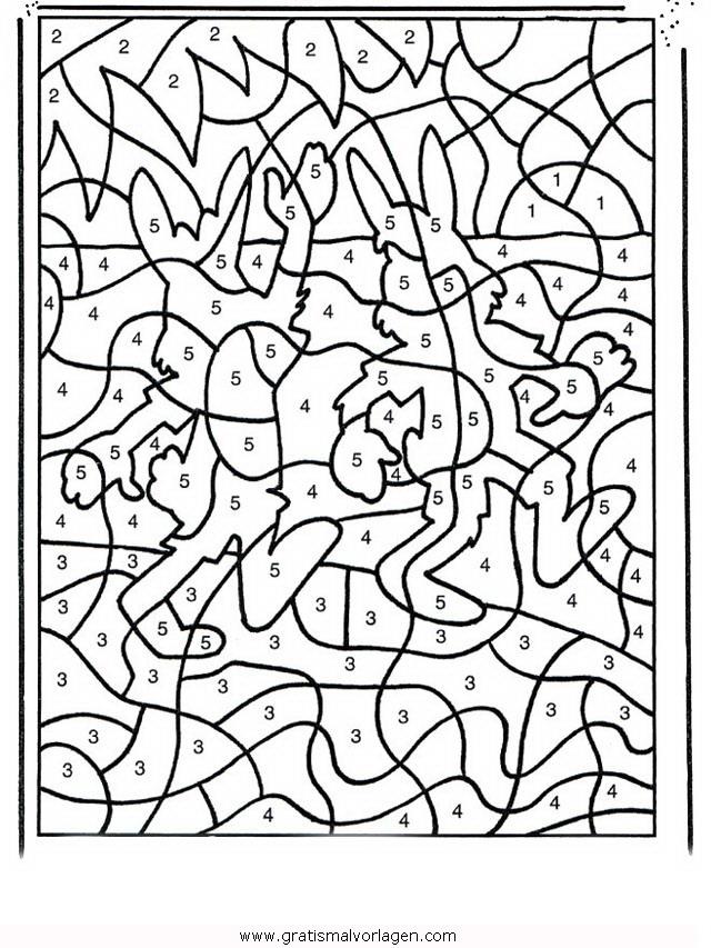 Fantastisch Mosaik Malvorlagen Nach Nummer Zeitgenössisch - Beispiel ...