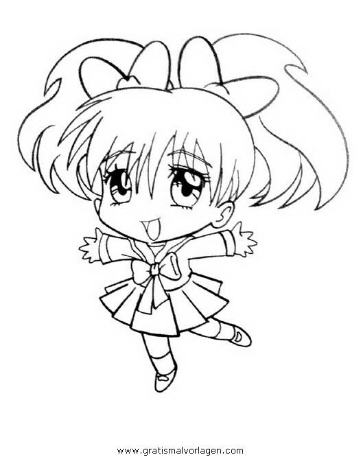 Manga 18 Gratis Malvorlage In Comic Trickfilmfiguren Manga
