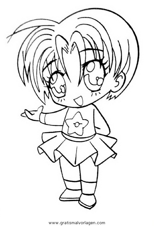 manga 20 gratis Malvorlage in Comic & Trickfilmfiguren ...