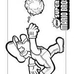 Waluigi 2 Gratis Malvorlage In Comic Trickfilmfiguren Mario