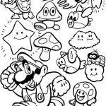 Mario Malvorlagen Zum Ausmalen Für Kinder