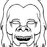 Masken Malvorlagen Zum Ausmalen Für Kinder