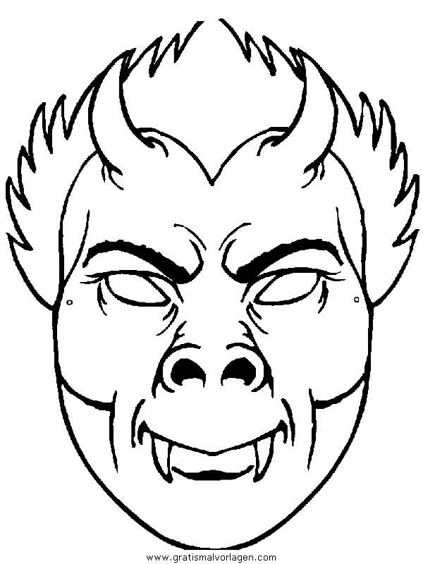 masken 32 gratis malvorlage in masken spiele ausmalen