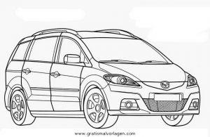 mazda 5 gratis malvorlage in autos2, transportmittel - ausmalen