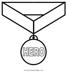 Malvorlage Beliebt03 medaille 3