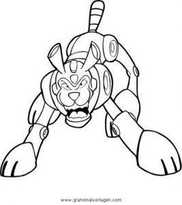 Malvorlage Mega Man megaman 12