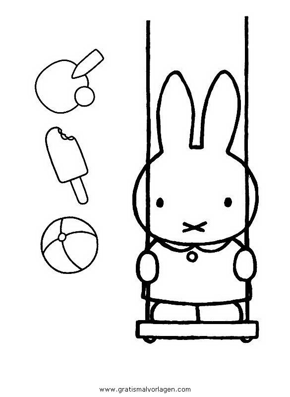 Kerst Kleurplaat Peuters Miffy 23 Gratis Malvorlage In Comic Amp Trickfilmfiguren
