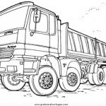 Lastwagen Malvorlagen Zum Ausmalen Für Kinder