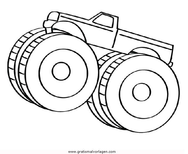 monstertruck 4 gratis malvorlage in lastwagen