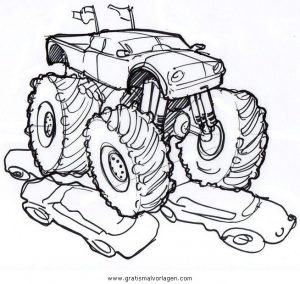 monstertruck monstertrucks 38 gratis malvorlage in lastwagen, transportmittel - ausmalen