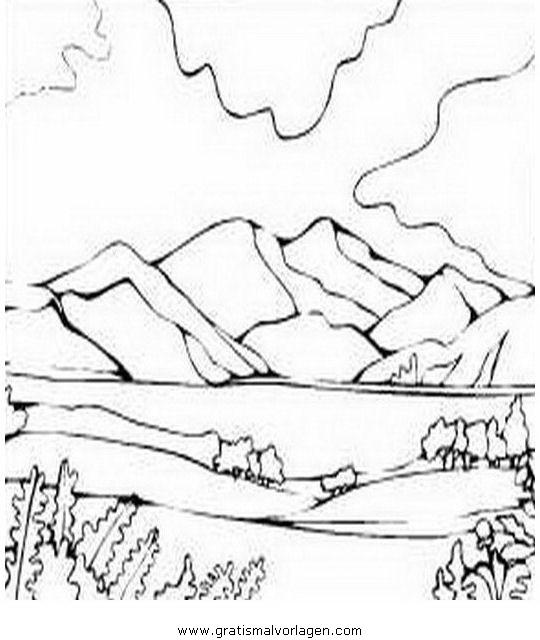 montagna 19 gratis malvorlage in diverse malvorlagen