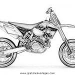 Motorrad Malvorlagen Zum Ausmalen Fur Kinder