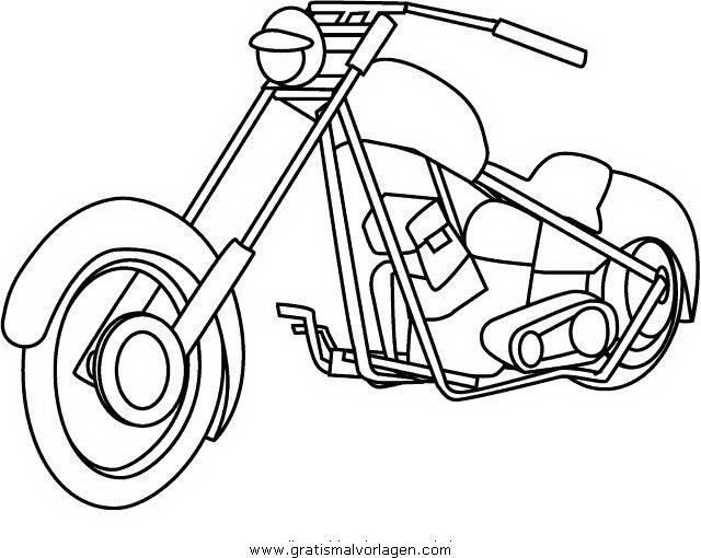 motorrad 15 gratis malvorlage in motorrad transportmittel