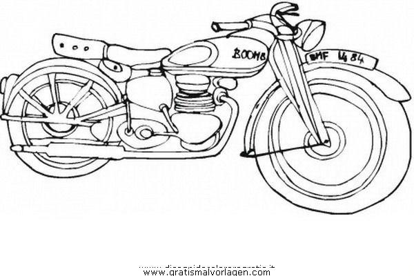 motorrad 27 gratis malvorlage in motorrad transportmittel