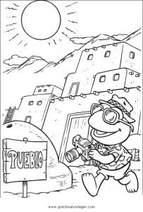 Malvorlage Muppets muppet muppets show 62