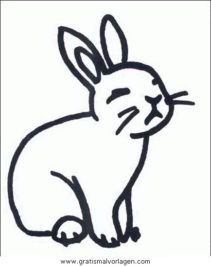 Nagetiere 45 gratis malvorlage in nagetiere tiere ausmalen for Lepre disegno da colorare