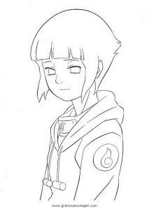 Naruto Hinata 05 Gratis Malvorlage In Comic