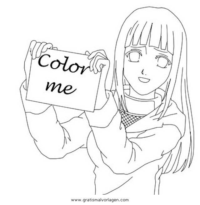 Sendung Maus 09 Gratis Malvorlage In Comic: Naruto Hinata 09 Gratis Malvorlage In Comic