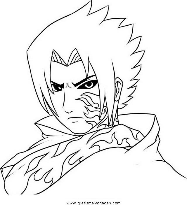 naruto sasuke 05 gratis malvorlage in comic