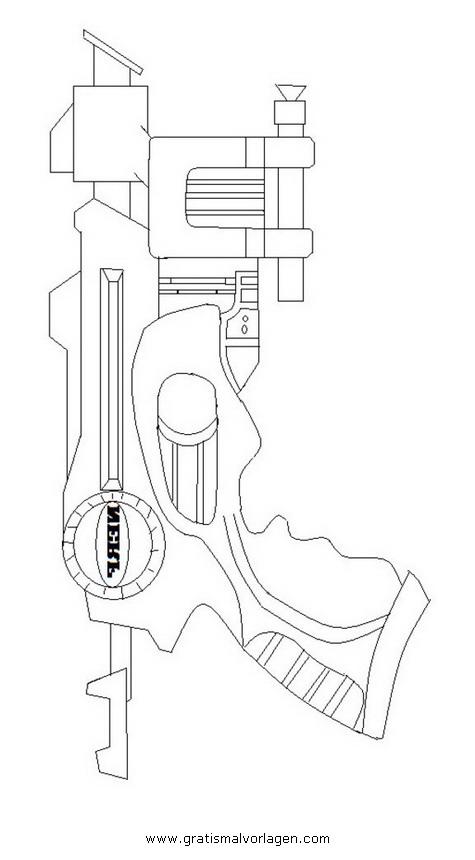 Ziemlich Nerf Gun Malvorlagen Zum Ausdrucken Fotos - Beispiel ...