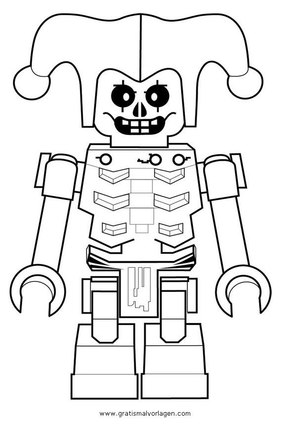 ninjago lego 21 gratis malvorlage in comic