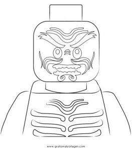 Malvorlage Ninjago ninjago lego 27