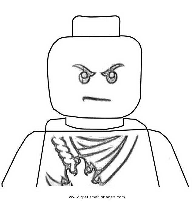 ninjago lego 61 gratis malvorlage in comic