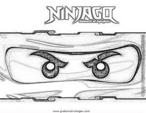 Ninjago Lego 62 Gratis Malvorlage In Comic Trickfilmfiguren