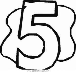 Malvorlage Nummern nummern 36