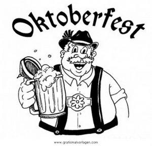 Oktoberfest 6 Gratis Malvorlage In Beliebt07 Diverse Malvorlagen
