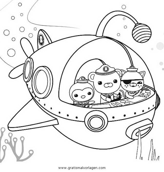 oktonauten 0 gratis malvorlage in comic  trickfilmfiguren