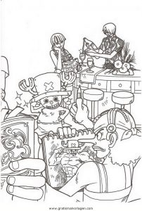 Malvorlage One Piece one piece 58