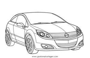 Opel Astra Gtc Gratis Malvorlage In Autos2 Transportmittel Ausmalen