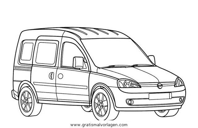 opel combo gratis malvorlage in autos2  transportmittel