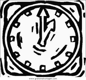 uhr 04 gratis malvorlage in diverse malvorlagen
