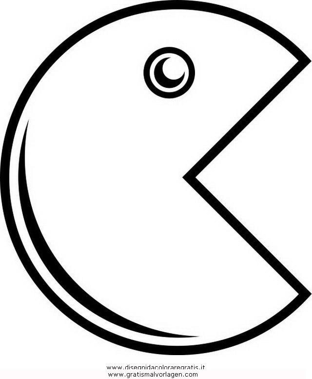 Pacman 8 Gratis Malvorlage In Beliebt13 Diverse