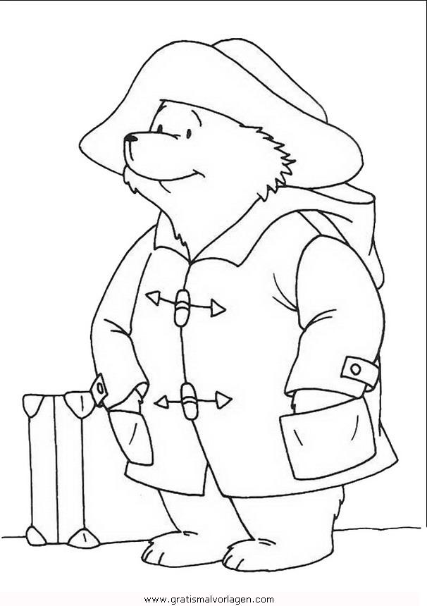 paddington 17 gratis malvorlage in comic