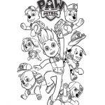 Paw Patrol Malvorlagen Zum Ausmalen Für Kinder