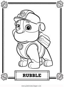 paw patrol 01 gratis malvorlage in comic