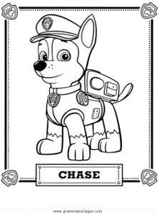 Paw Patrol 02 Gratis Malvorlage In Comic Trickfilmfiguren Paw